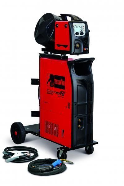 ELECTROMIG 450 SYNERGIC AQUA - APARAT DE SUDURA TELWIN tip MIG-MAG/TIG/MMA imagine TELWIN albertool.com