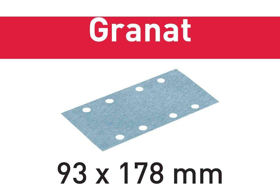 Foaie abraziva STF 93X178 P40 GR/50 Granat imagine Festool albertool.com