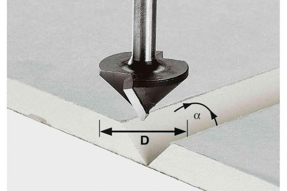 Freză pentru gips-carton HW S8 D32/90° imagine Festool albertool.com