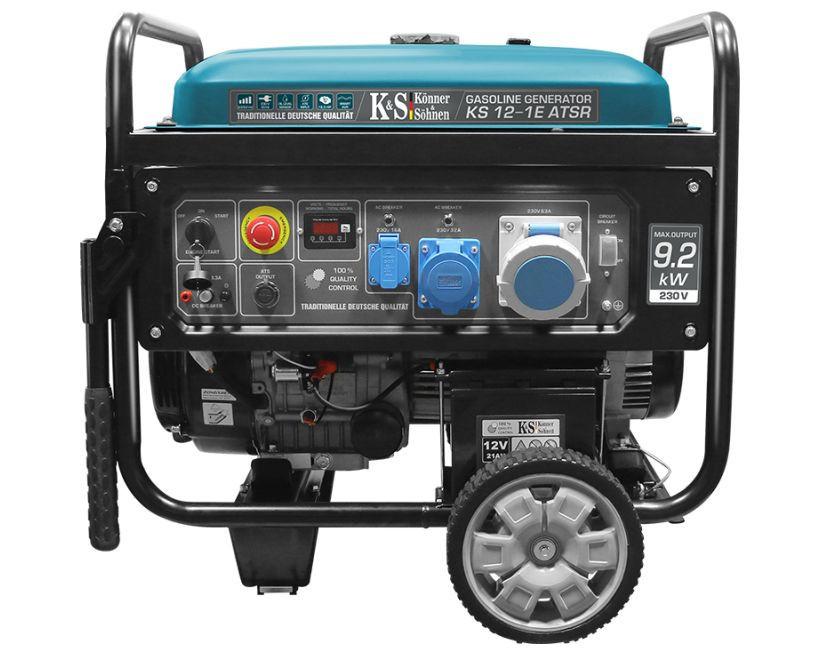 Generator de curent 9.2 kW benzina PRO - Konner & Sohnen - KS-12-1E-ATSR imagine Konner & Sohnen albertool.com