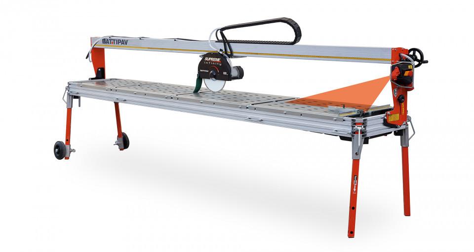 Masina de taiat placi de marmura mari 320cm, 3.4kW, SUPREME 320S - Battipav-83201/T380S1 Battipav