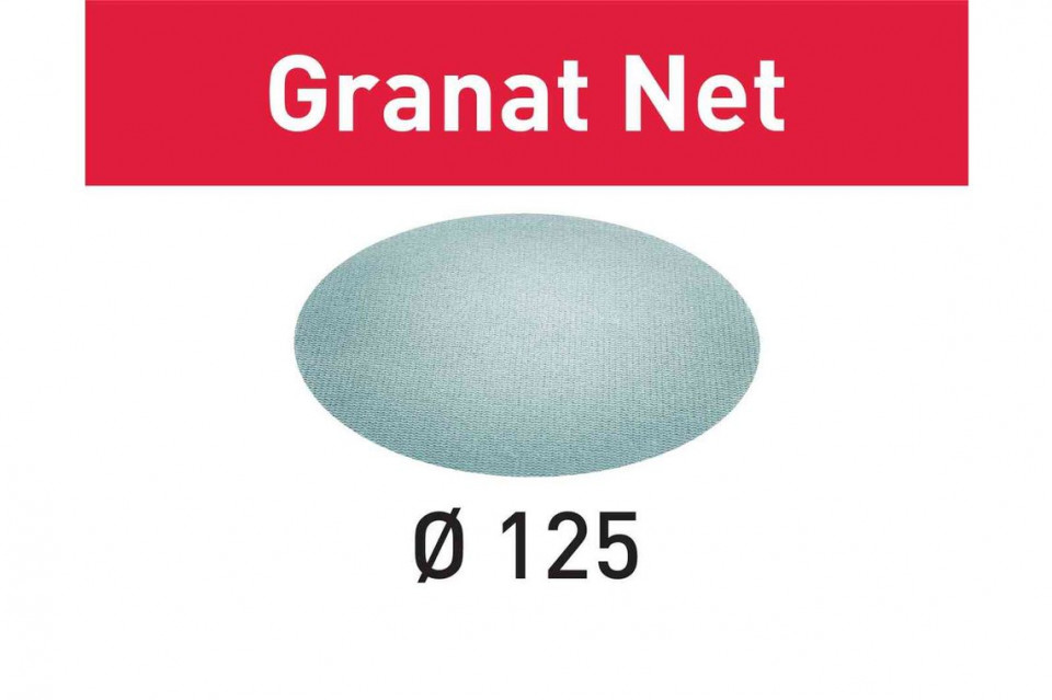 Material abraziv reticular STF D125 P80 GR NET/50 Granat Net imagine Festool albertool.com