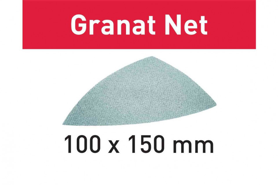 Material abraziv reticular STF DELTA P80 GR NET/50 Granat Net Festool