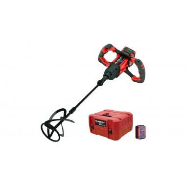 Mixer / amestecator pt. adezivi / mortar 18V, 90L, Rubimix E-10 Energy - RUBI-26965 RUBI