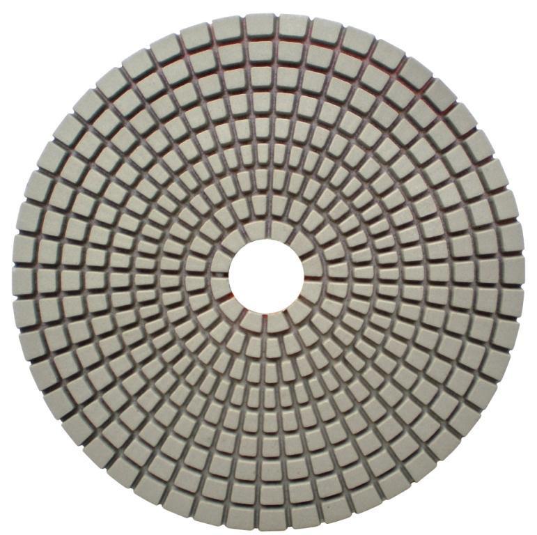 Paduri / dischete diamantate pt. slefuire uscata de pardoseli, #1500 125mm - Super Premium - DXDH.25007.125.1500 DiamantatExpert