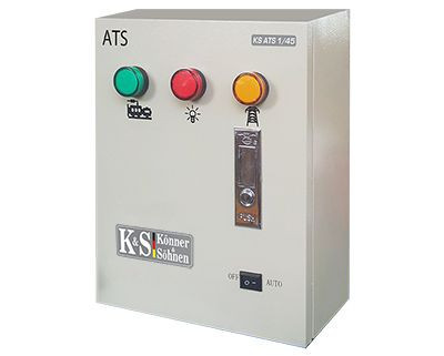 Panou de automatizare pt. Generatoarele Konner & Sohnen seria Diesel KSB -KS-ATS-1/45