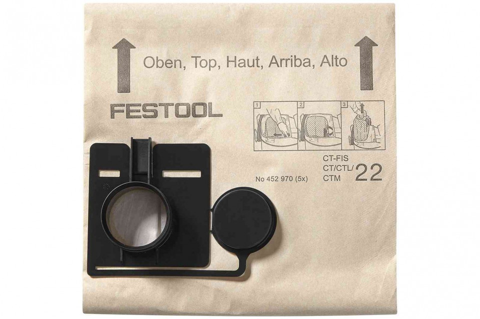 Sac de filtrare FIS-CT 22/5 Festool