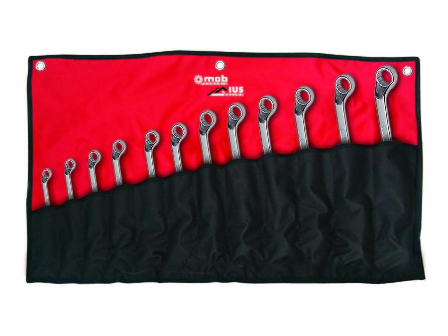Set chei inelare duble cotite, in husa 10 imagine MOBIUS - BRASOV albertool.com
