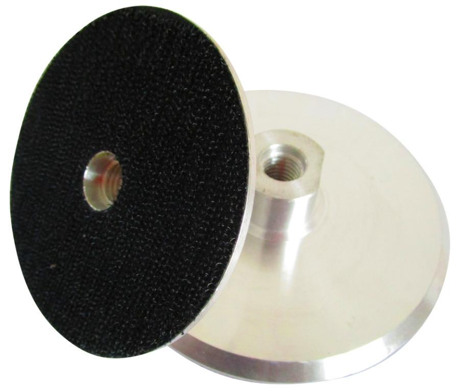 Suport rigid pt. dischete / paduri diamantate cu velcro 125m - prindere M14 - DXDH.23007.125.U-Alu DiamantatExpert