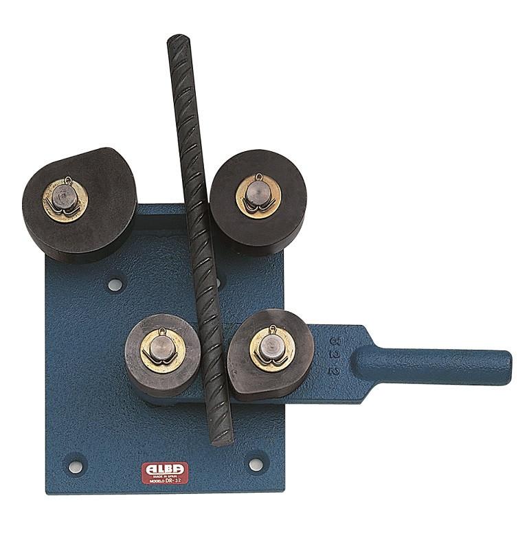 Aparat cu parghie pentru fasonat fier beton dim. max. 25mm - Alba-DR-25 ALBA