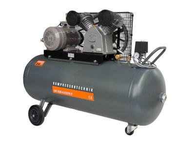 Compresor cu piston - Profesional 4kW , 630 L/min - Rezervor 270 Litri - WLT-PROG-630-4.0/270 imagine Walter albertool.com