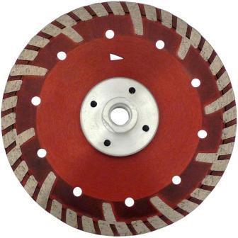 Disc DiamantatExpert pt. Beton armat & Granit - cu flansa 150xM14 (mm) Super Premium - DXDH.2287.150-Flansch imagine DiamantatExpert albertool.com