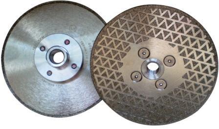 Disc DiamantatExpert pt. taiere si slefuire - Marmura 125xM14 (mm) Premium - DXDH.2117.125-GB-M14 DiamantatExpert