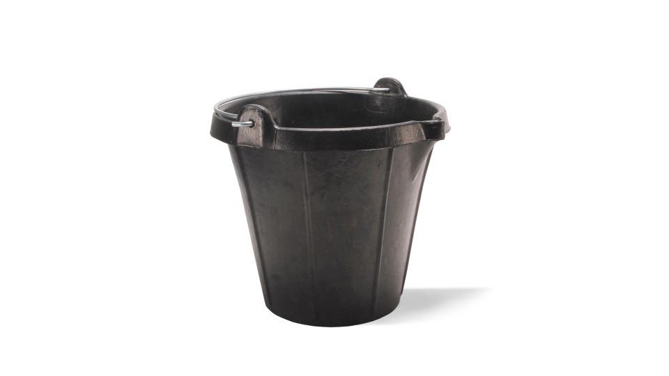 Galeata din plastic cu gradatii & gat (15 L) - RUBI-88775 RUBI