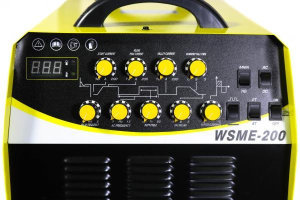 Invertor de sudura aluminiu TIG WIG INTENSIV WSME 200 AC/DC imagine Intensiv albertool.com