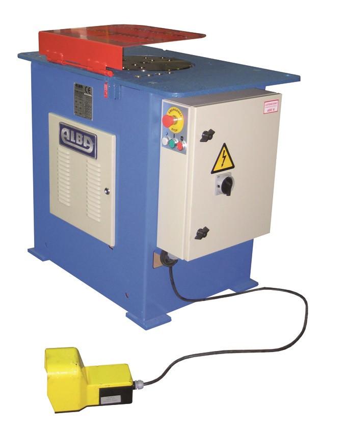 Masina de fasonat fier-beton automata - Alba-D36L ALBA