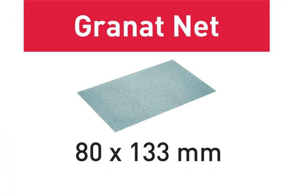 Material abraziv reticular STF 80x133 P80 GR NET/50 Granat Net Festool