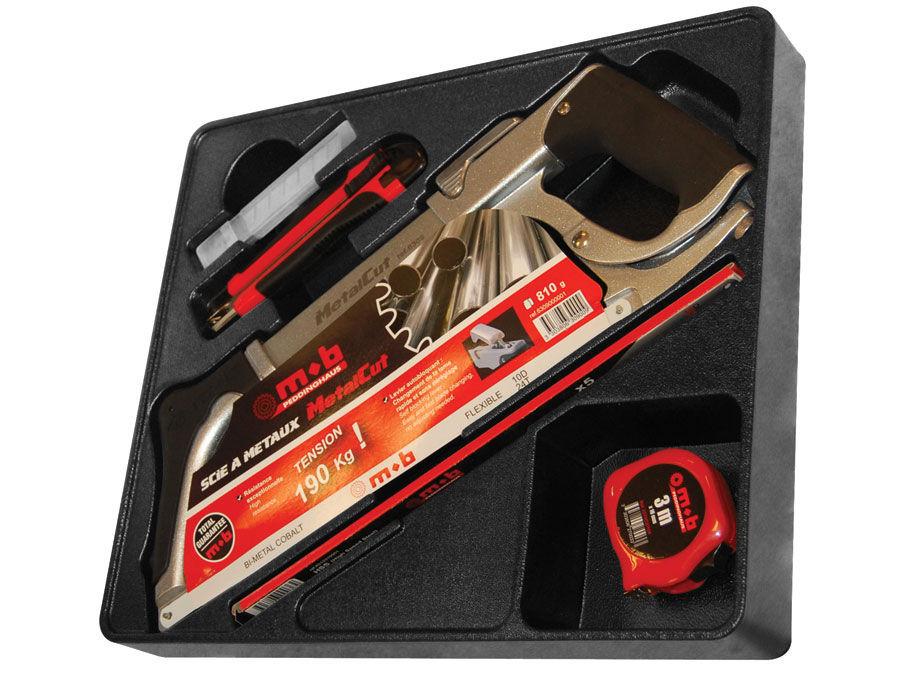 Modul PVC 18 cu ferastrau METALCUT si accesorii 18 scule imagine MOBIUS - BRASOV albertool.com