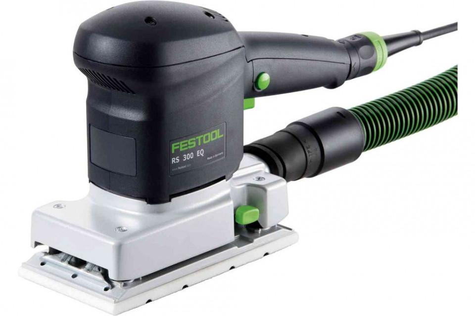 Slefuitor cu vibratie RUTSCHER RS 300 EQ-Set imagine Festool albertool.com