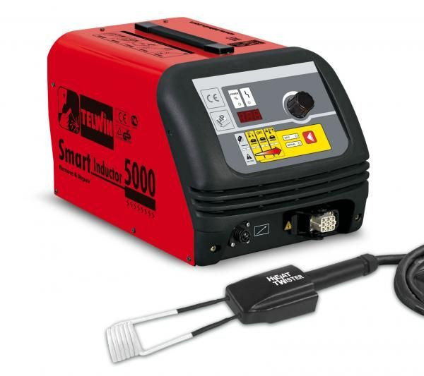 SMART INDUCTOR 5000 TWISTER- Aparat de incalzire prin inductie pentru tinichigerie, TELWIN TELWIN