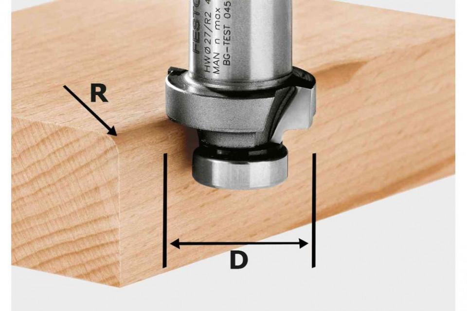 Freza de rotunjit HW R6-OFK 500 imagine 2021