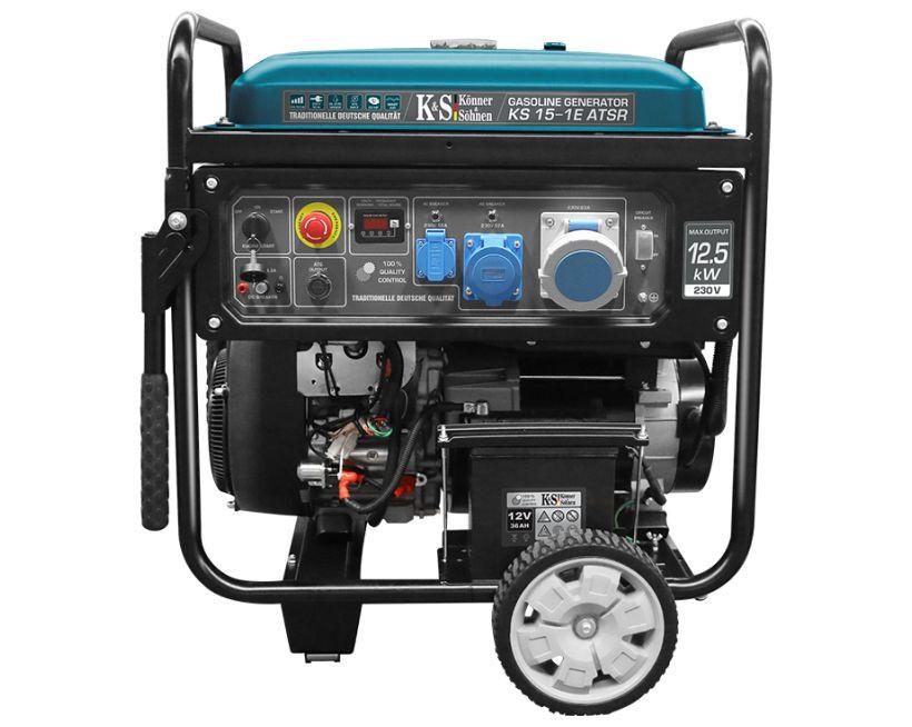 Generator de curent 12.5 kW benzina PRO - Konner & Sohnen - KS-15-1E-ATSR