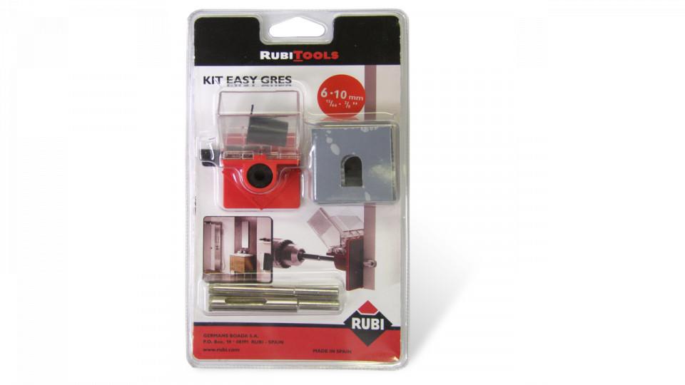 Kit carote diamantate EasyGres 6, 10mm, 2 buc. - RUBI-4919 imagine RUBI albertool.com