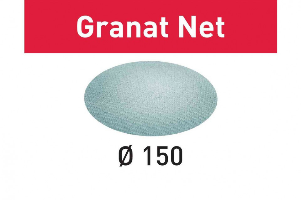 Material abraziv reticular STF D150 P120 GR NET/50 Granat Net Festool