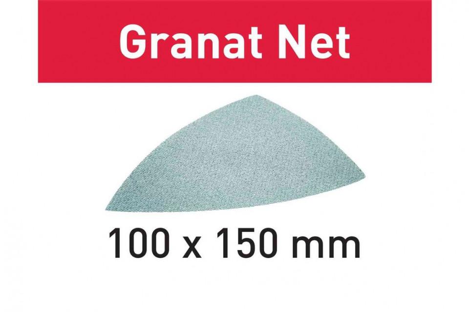 Material abraziv reticular STF DELTA P100 GR NET/50 Granat Net imagine Festool albertool.com