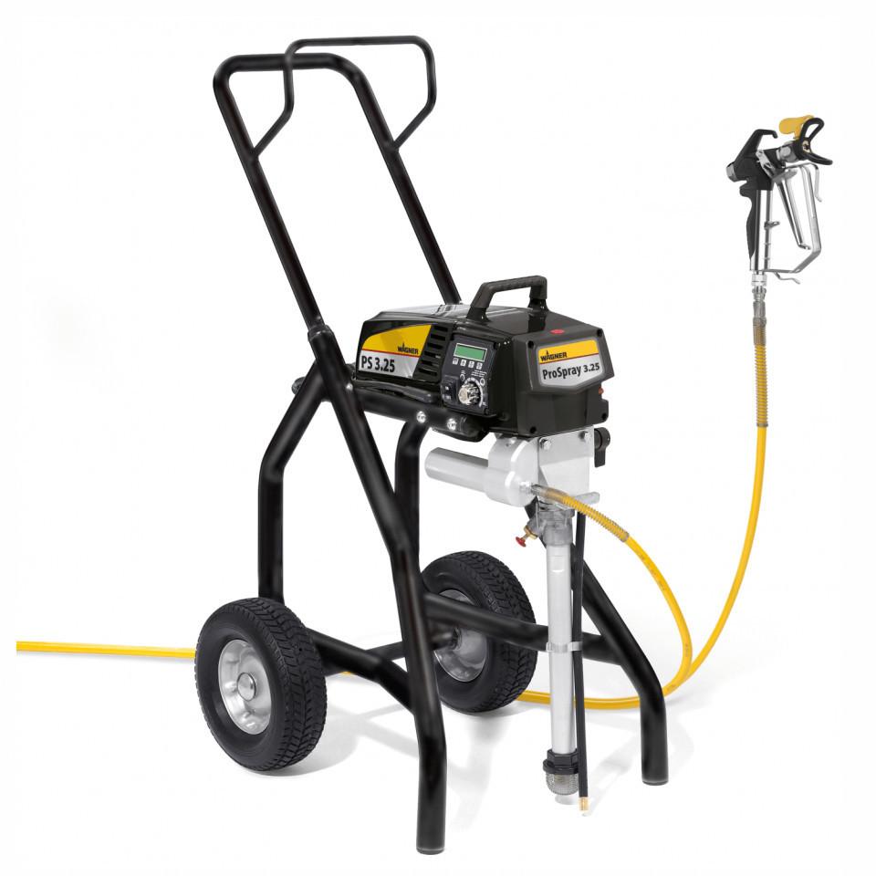 "Pompa airless Wagner ProSpray 3.25 Airless Spraypack cart, debit material 2.6 l/min, duza max. 0,027"", motor electric 1.1 kW imagine Titan - Wagner albertool.com"