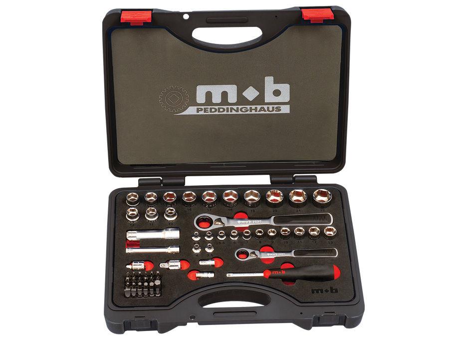 Trusa 59 capete si accesorii M-TRAVERSANT MIXT 350×265×75 imagine MOBIUS - BRASOV albertool.com