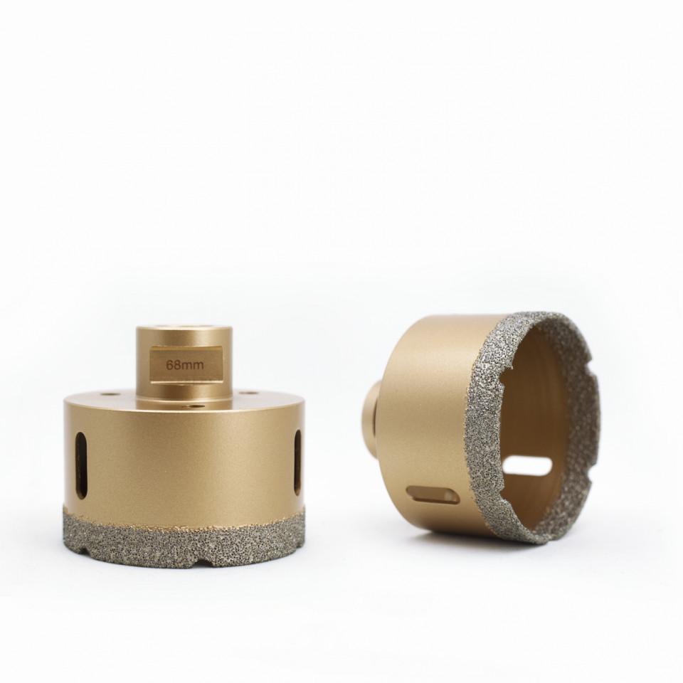 Carota diamantata pentru gresie portelanata si piatra diametru 82mm Diamant Expert DiamantatExpert
