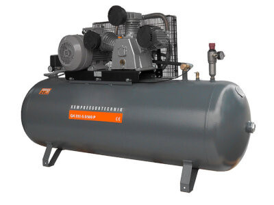 Compresor cu piston - Profesional 5,5kW , 880 L/min - Rezervor 500 Litri - WLT-PROG-880-5.5/500 imagine Walter albertool.com