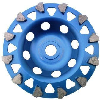 "Cupa diamantata segment ""sageti"" - Beton/Acoperiri 180mm Premium - DXDH.4997.180 DiamantatExpert"