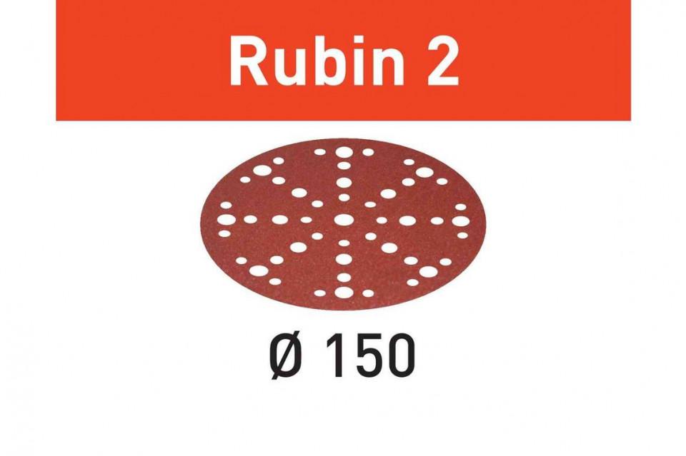 Foaie abraziva STF D150/48 P100 RU2/50 Rubin 2 imagine Festool albertool.com