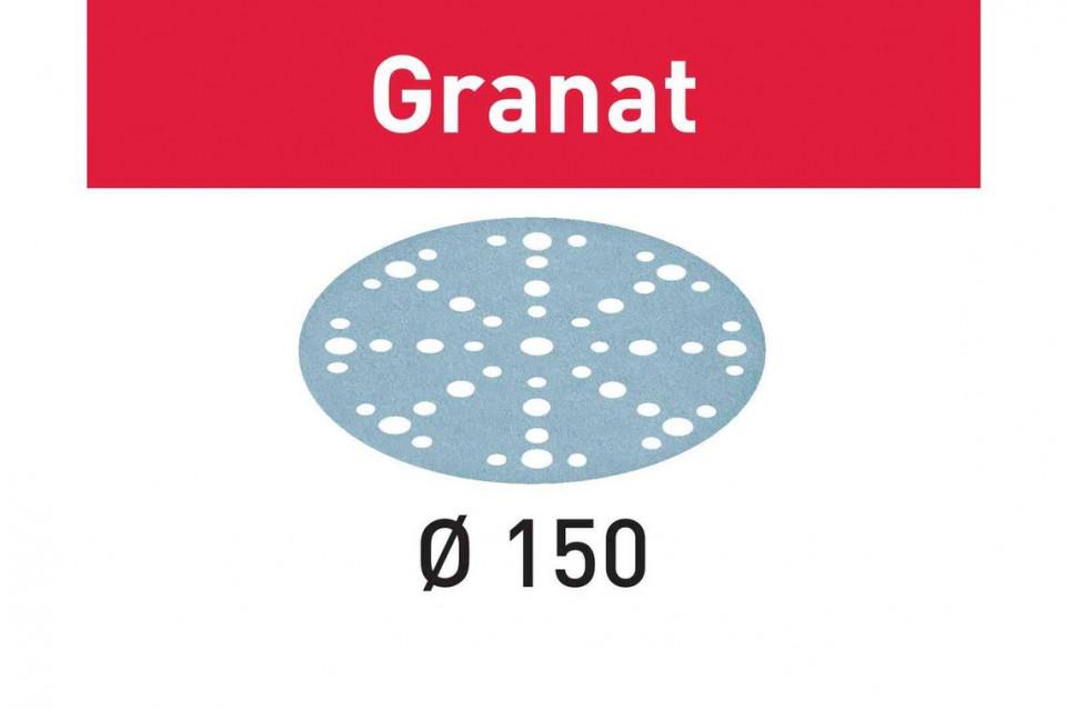 Foaie abraziva STF D150/48 P1500 GR/50 Granat imagine Festool albertool.com