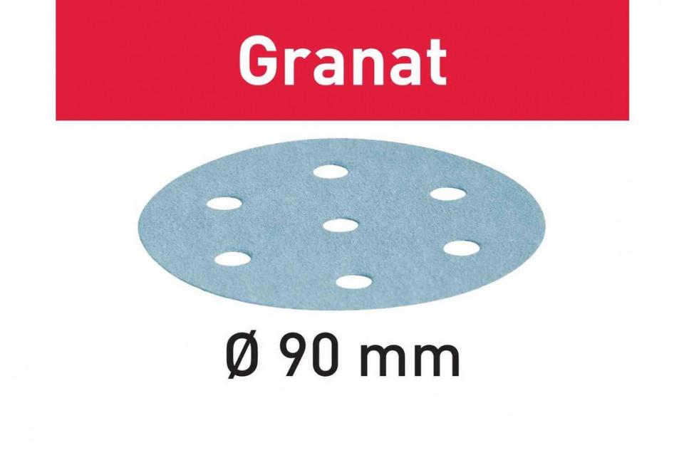 Foaie abraziva STF D90/6 P80 GR/50 Granat imagine Festool albertool.com