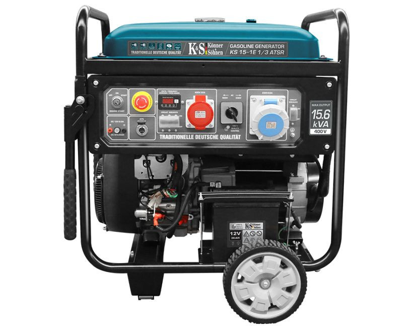 Generator de curent 11.5 kW benzina PRO - Konner & Sohnen - KS-15-1E-1/3-ATSR imagine Konner & Sohnen albertool.com