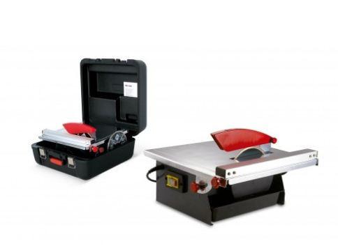 Masina de taiat gresie, faianta 520W, ND-180 230V-50Hz. cu cutie si disc extra - RUBI-25945 imagine 2021