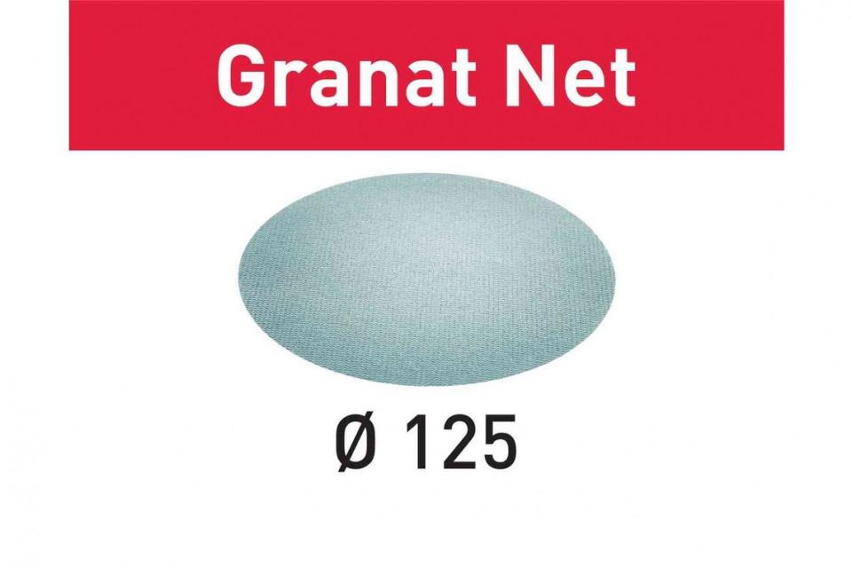 Material abraziv reticular STF D125 P120 GR NET/50 Granat Net Festool