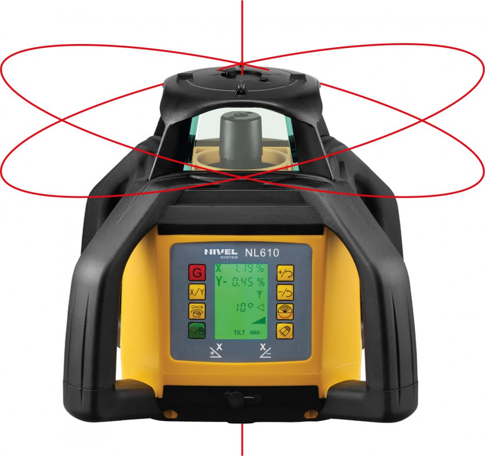 Nivela laser - cu afișarea digitală a diferențelor - NL610 DIGITAL - Nivel System NIVEL SYSTEM