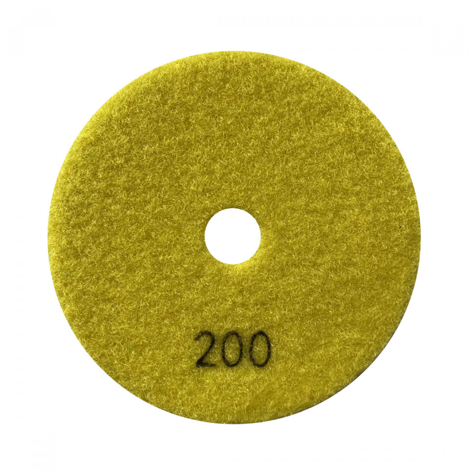 Paduri / dischete diamantate pt. slefuire uscata #200 Ø100mm - DXDY.DRYPAD.100.0200 DiamantatExpert