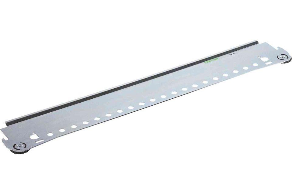 Sablon de imbinari cu cepuri, din sistemul pentru imbinari cu sablon VS 600 DS 32 Festool