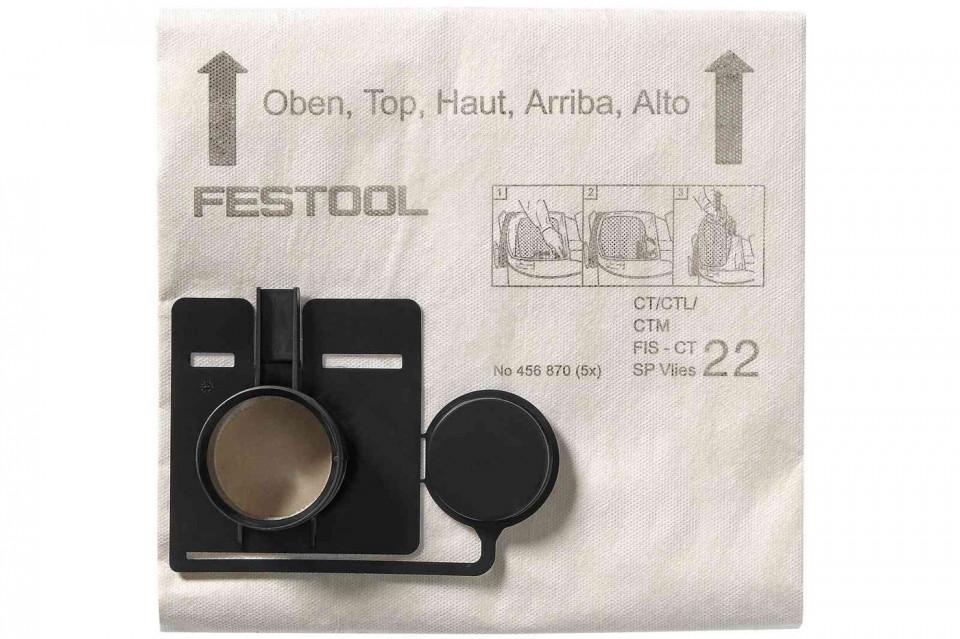 Sac de filtrare FIS-CT 33 SP VLIES/5 imagine Festool albertool.com