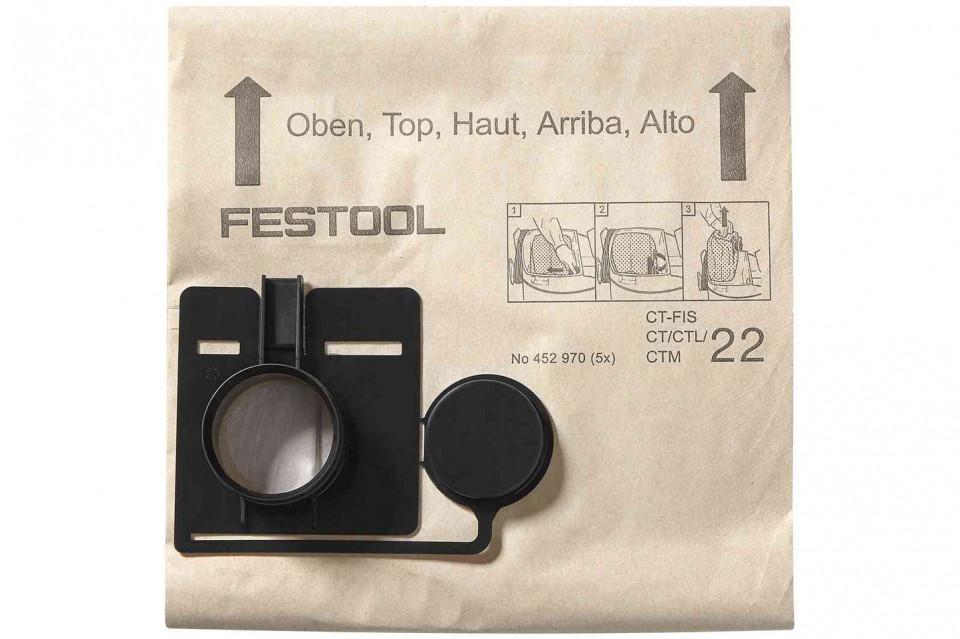 Sac de filtrare FIS-CT 44/5 Festool