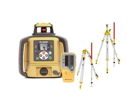 SET Laser rotativ RL-SV2S, stadie, trepied, senzor laser pentru utilaje LS-B110 - Topcon Topcon