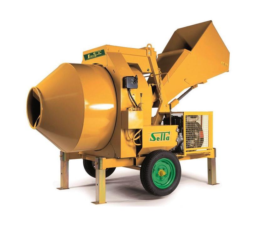 Betoniera automata 750 lt, 21CP - LS-Hopper-S750-Diesel Lino Sella