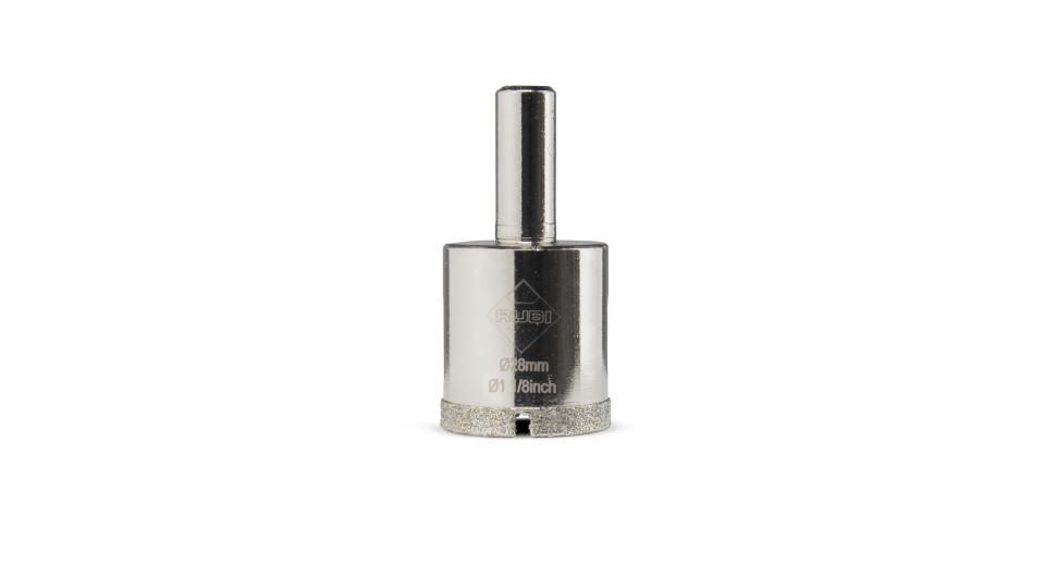 Carota diamantata pt. portelan, placi ceramice EasyGres 28mm - RUBI-5962 RUBI