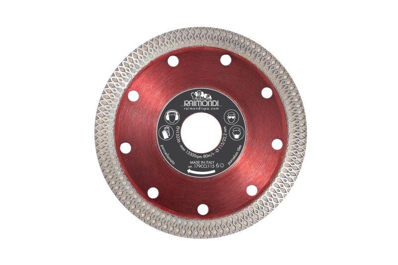 Disc diamantat pt. gresie, faianta, placi 115mm - Raimondi-179CCL115 imagine Raimondi albertool.com