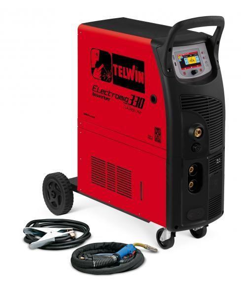 ELECTROMIG 330 WAVE AQUA - Aparat de sudura TELWIN tip MIG-MAG/TIG/MMA imagine TELWIN albertool.com